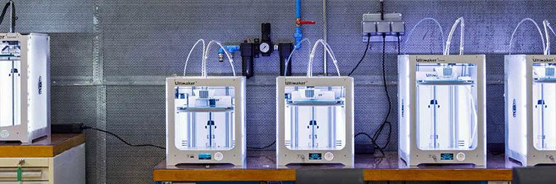 Parc d'imprimantes 3D